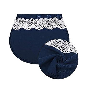 Pregnant Maternity Waistband Pants Belt Elsatic Lengthen Waist Extending Button