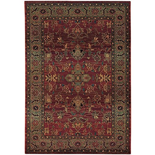 - Traditional Area Rug, Oriental Weavers Sphinx Kharma Collection 2'3