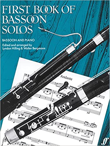 Amazon com: First Book of Bassoon Solos (Faber Edition
