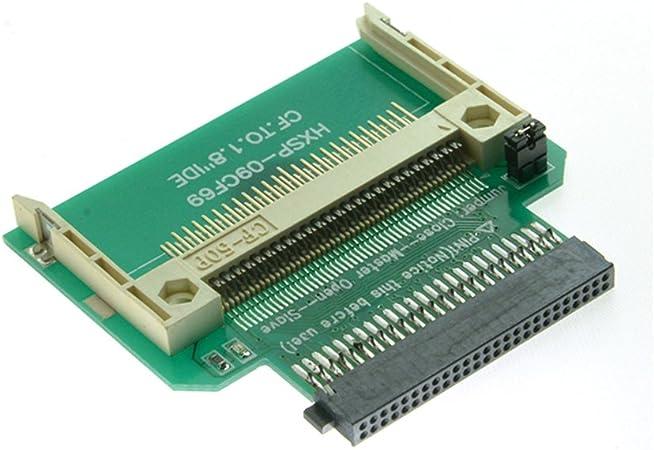 CF Compact Flash Merory Card a 50pin 1.8 Pulgadas IDE Disco Duro ...