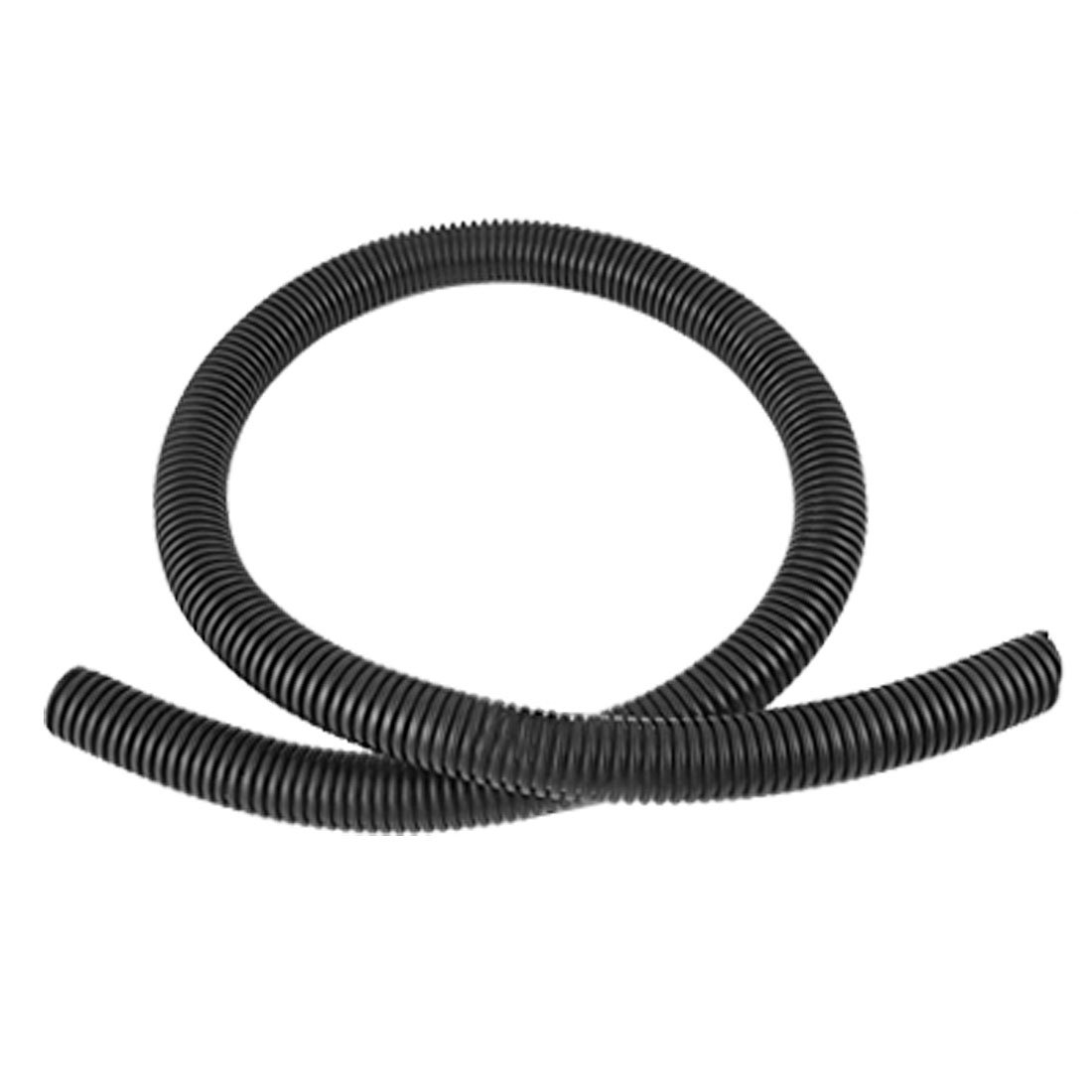Uxcell 1m 20mm Inner Diameter Plastic Corrugated Tube Electric China Pvc Electrical Pipe For Conduit Wiring Photos Pictures Made Black