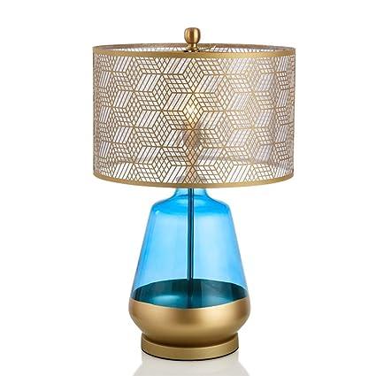 Moderna Creativa lámpara de Mesa de Vidrio lámpara de la ...