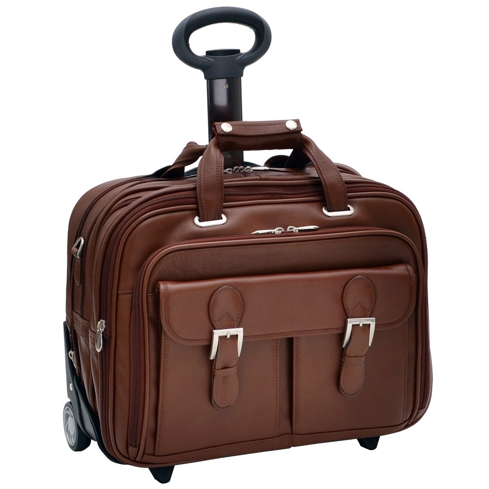 Checkpoint-Friendly 17-Inch Detachable-Wheeled Laptop Case
