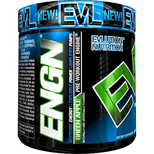 Evlution Nutrition Pre workout Powder Servings