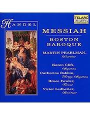 Handel - Messiah / Clift · Robbin · Fowler · Ledbetter · Boston Baroque, Pearlman