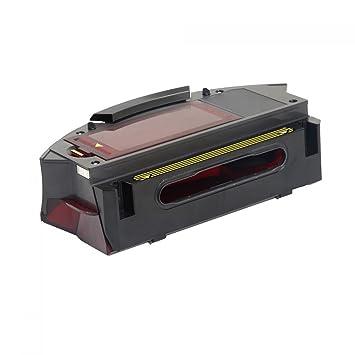 MIRTUX ASP Robot Depósito filtros HEPA AEROFORCE para Roomba 980. Recambio Original Bin cajón de residuos Repuesto Compatible para Aspirador irobot Roomba: ...