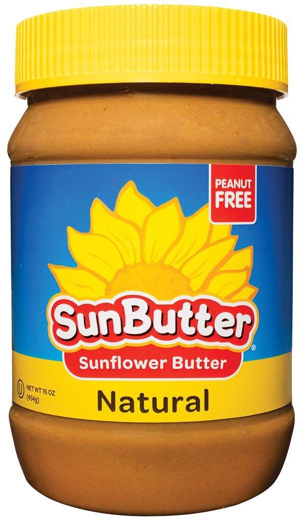SunButter Sunflower Butter Natural Creamy (6 pack of 16oz Jars)