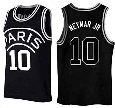 outlet store 772d5 560ab Amazon.com: Neymar Jr,Basketball Jersey,PSG, New Fabric ...