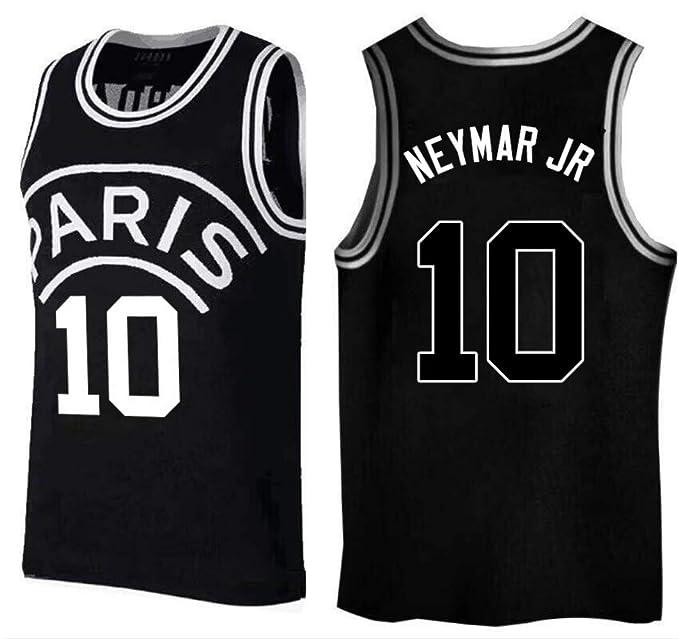 Amazon.com: Neymar Jr, camiseta de baloncesto, PSG, nuevo ...