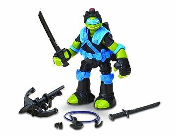 Flair Tortugas Ninja - Figura de Leonardo con accesorios de sigilo [importado]