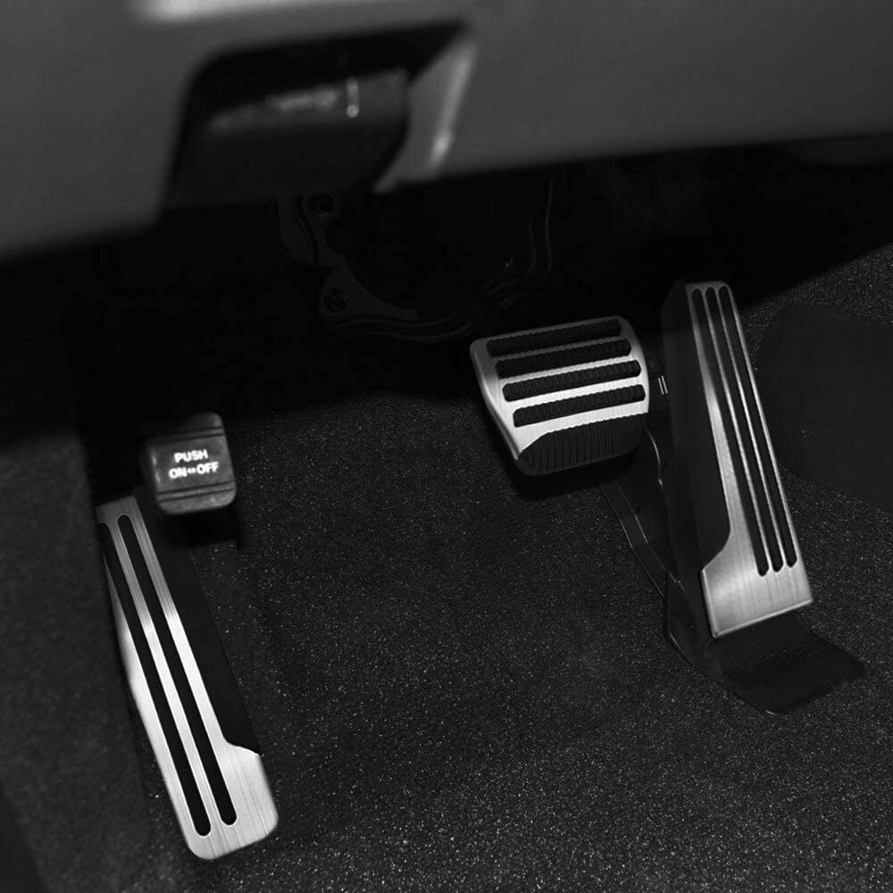 Hcdsqsn Auto Gas Kraftstoff Bremse Fußstütze Pedal Abdeckung Pads Matten Für Infiniti Q50 Q60 Q70 Qx50 Qx70 G25 G35 G37 M25 Ex Fx Auto Styling Sport Freizeit