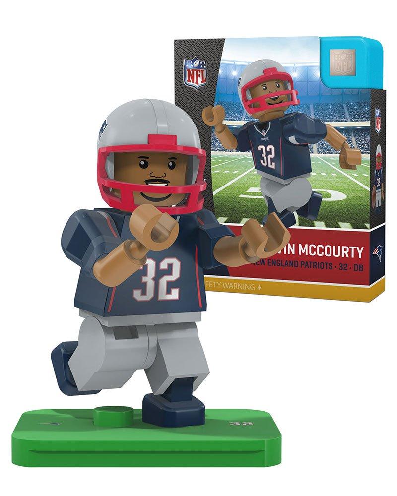 OYO NFL New England Patriots Gen4 Limited Edition Devin Mccourty Mini Figure White Small