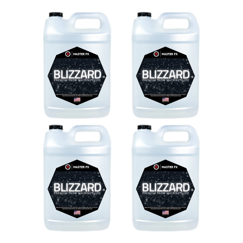 Blizzard in a Bottle - Snow Machine Fluid - 4 Gallon Case (Standard)
