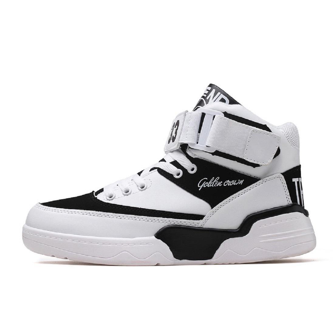 Herren Mode Sportschuhe Erhöht Laufschuhe Basketball Schuhe Schutzfuß Trainer Schuhe erhöhen Draussen Rutschfest wasserdicht EUR GRÖSSE 39-44