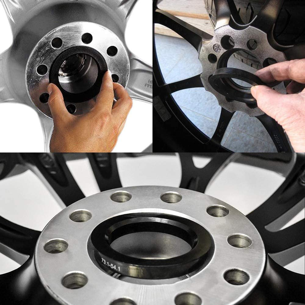 Hub Centric Ring Set 67mm Wheel Bore OD To 56.6mm Hub ID Compatible With Many Suzuki models