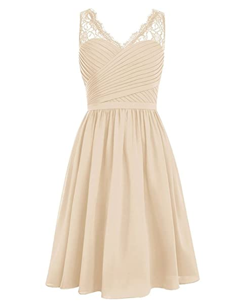 Review Cdress Chiffon Short Bridesmaid