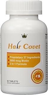 lipogaine – Hair COVET – Fórmula 3 en 1 para cabello más largos y Plus sains