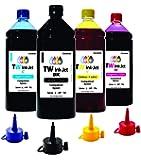 4 Litros de Tinta P/Multifuncional Epson L396 TW Ink-Jet + Bico