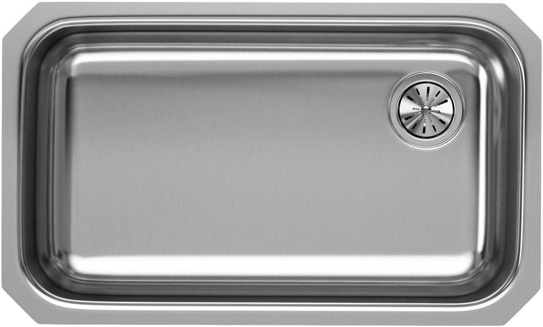 Elkay EGUH2816R Single Bowl Undermount Stainless Steel Kitchen Sink
