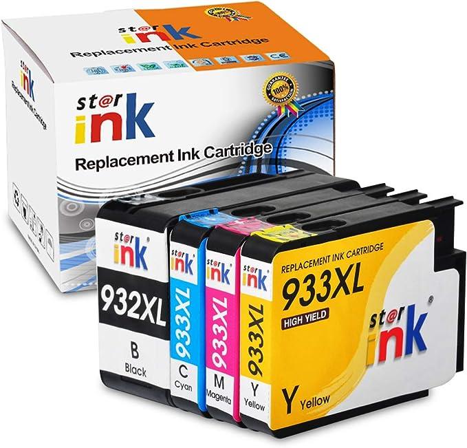Starink - Cartuchos de Tinta compatibles con Epson 932XL 933XL ...