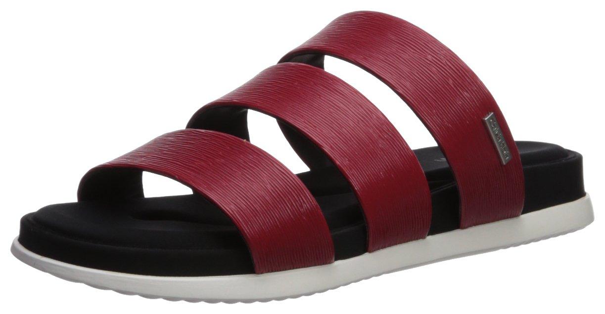 Calvin Klein Women's Dalana Slide Sandal B075TQ32TT 11 B(M) US|Crimson Red