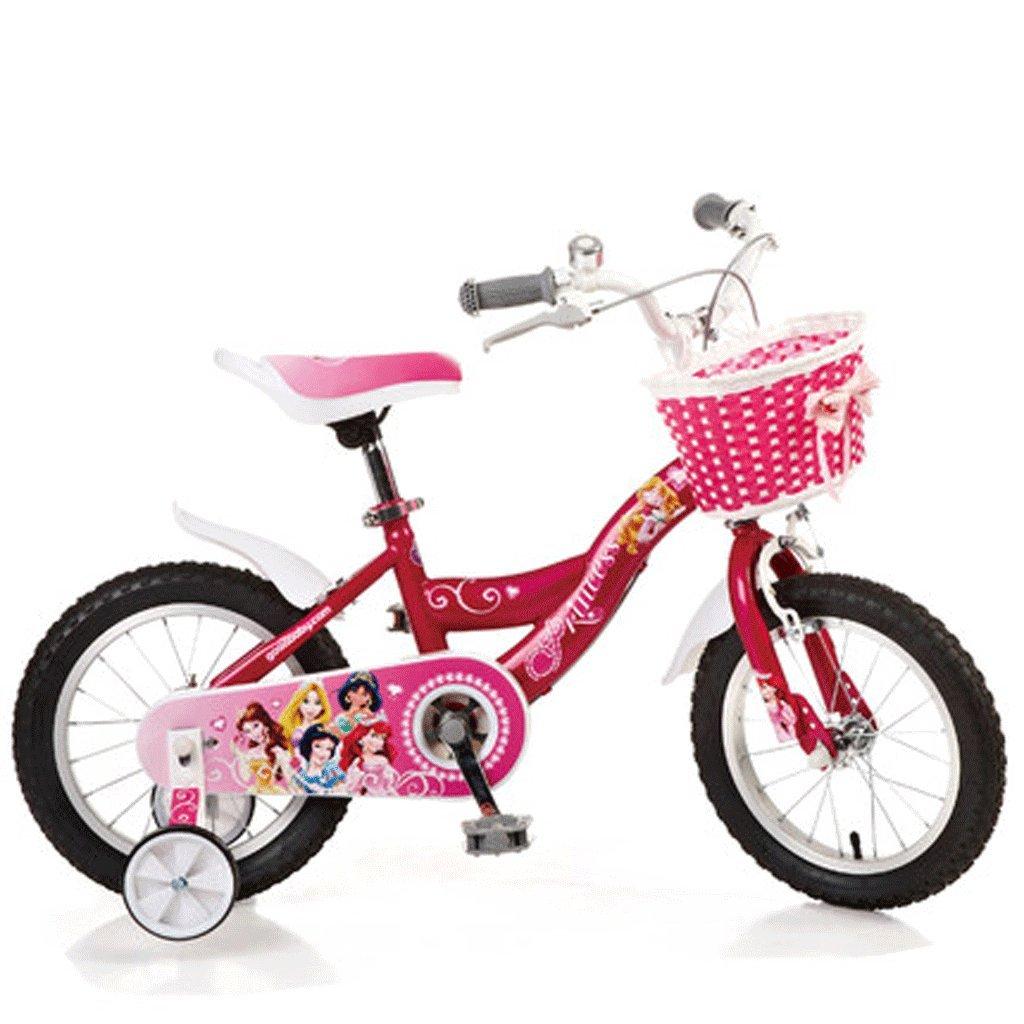 自転車 子供の自転車3歳のベビーバイク2-4-6 14/16インチのガール自転車のプリンセスのモデル (サイズ さいず : 16inch) B07DPP6FTB16inch