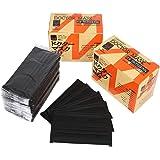 B-TOPAZ 黒 マスク 個別包装 4層構造 ブラック 紫外線 PM2.5 花粉 風邪 対策【100枚】