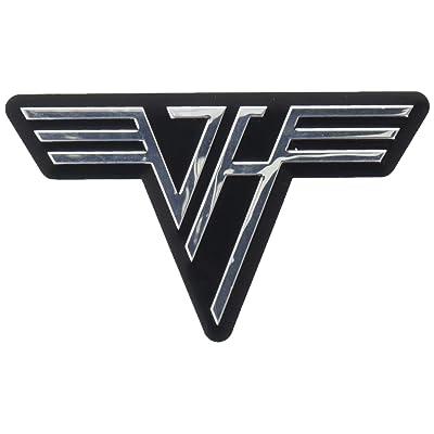 C&D Visionary S-8201-M Van Halen Classic Logo Metal Sticker, Multi Color: Arts, Crafts & Sewing