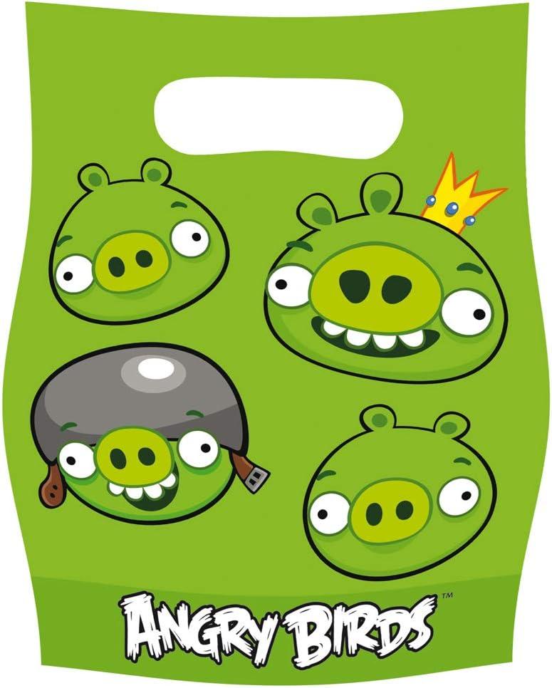Bolsas Chuches Angry Birds (Pack de 6): Amazon.es: Juguetes y juegos