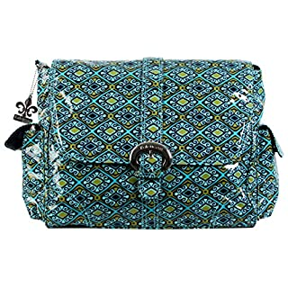Kalencom Coated Buckle Bag, Dixie Diamonds