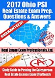 2017 Ohio PSI Real Estate Exam Prep Questions and Answers: Study Guide to Passing the Salesperson Real Estate License Exam Effortlessly