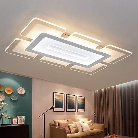 Lámpara de techo LED Control remoto regulable 100W Plafones ...