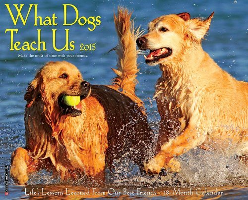 - What Dogs Teach Us Calendar 2015: Life's Lessons Learned From Our Best Friends by Glenn Dromgoole (June 15,2014)