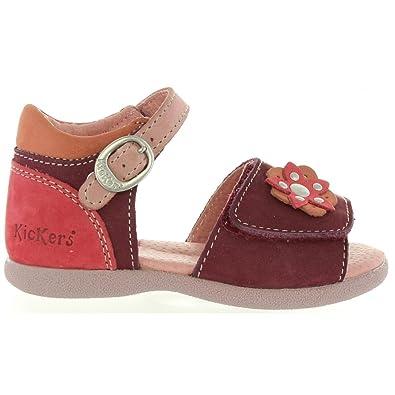 Kickers Sandales pour Fille 469640 10 Babygirl 143 Violet
