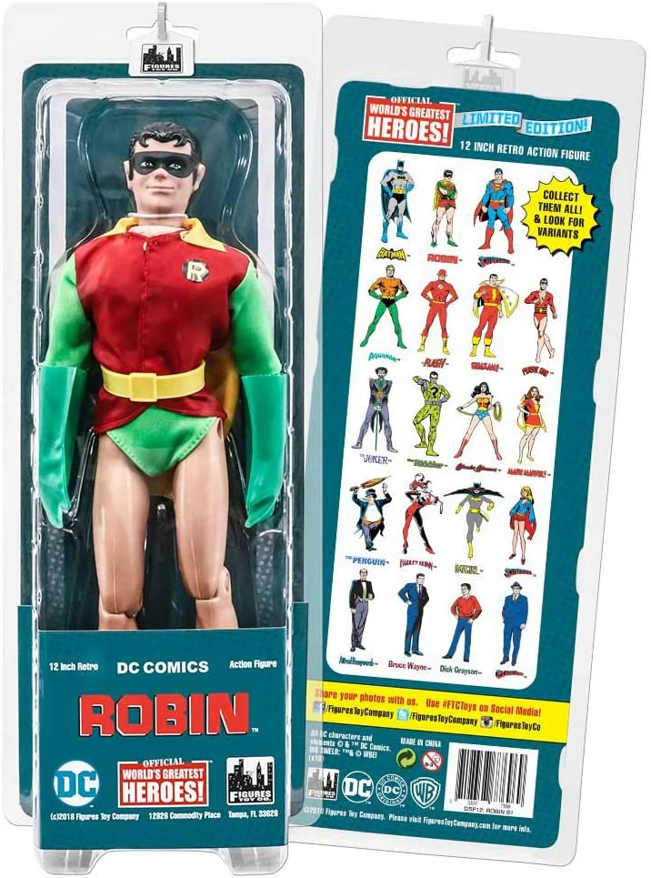 12 Inch Retro DC Comics Action Figures Series Robin