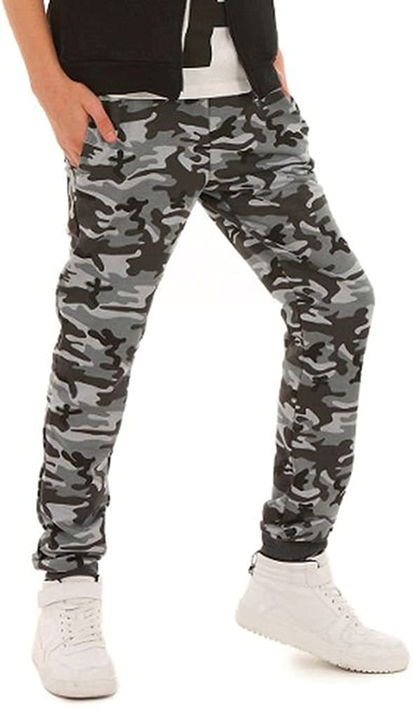 Dykmod Boys Childrens Camouflage Chino Trousers Pants 6-13 Years