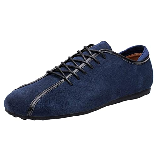 Zapatos Seguridad para Hombre,Zapatos Hombre Vestir,Moda Casual De Hombre Plana con Zapatos Guisantes Zapatos para Caminar: Amazon.es: Zapatos y ...