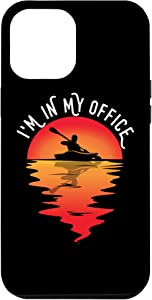 iPhone 12 Pro Max I'm In My Office Home Office Kayaker Gift Funny Kayaking Case