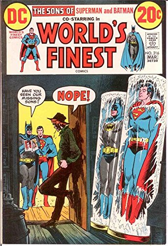 WORLDS FINEST 216 VF-NM March 1973 COMICS BOOK