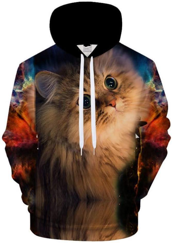 LUO Sweat-shirts à capuche homme de style de rue Sweatshirt Pullover Homme Vêtements,S * L