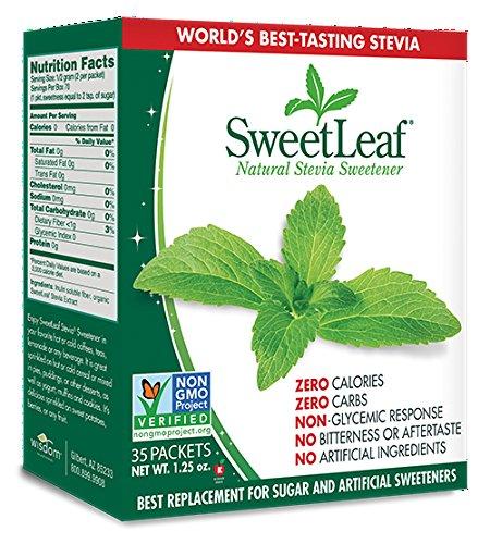 Sweetleaf Stevia Sweetener 35 Packets (Pack of 12) by SweetLeaf