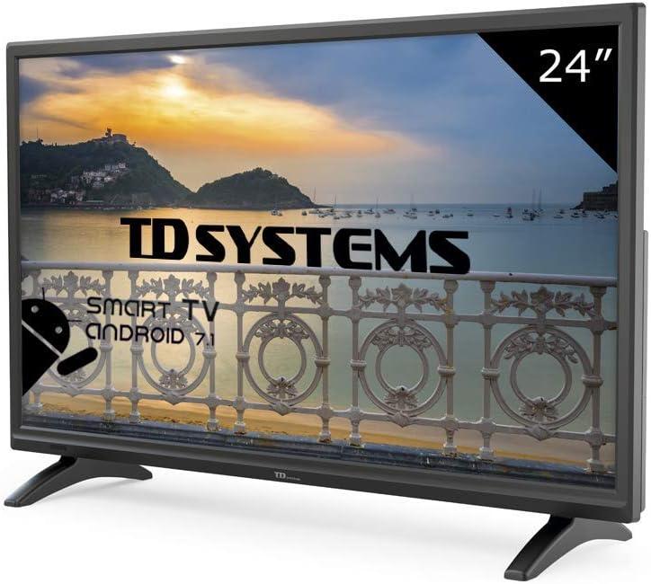 TD Systems K24DLM8HS - Televisor Led 24 Pulgadas HD Smart ...