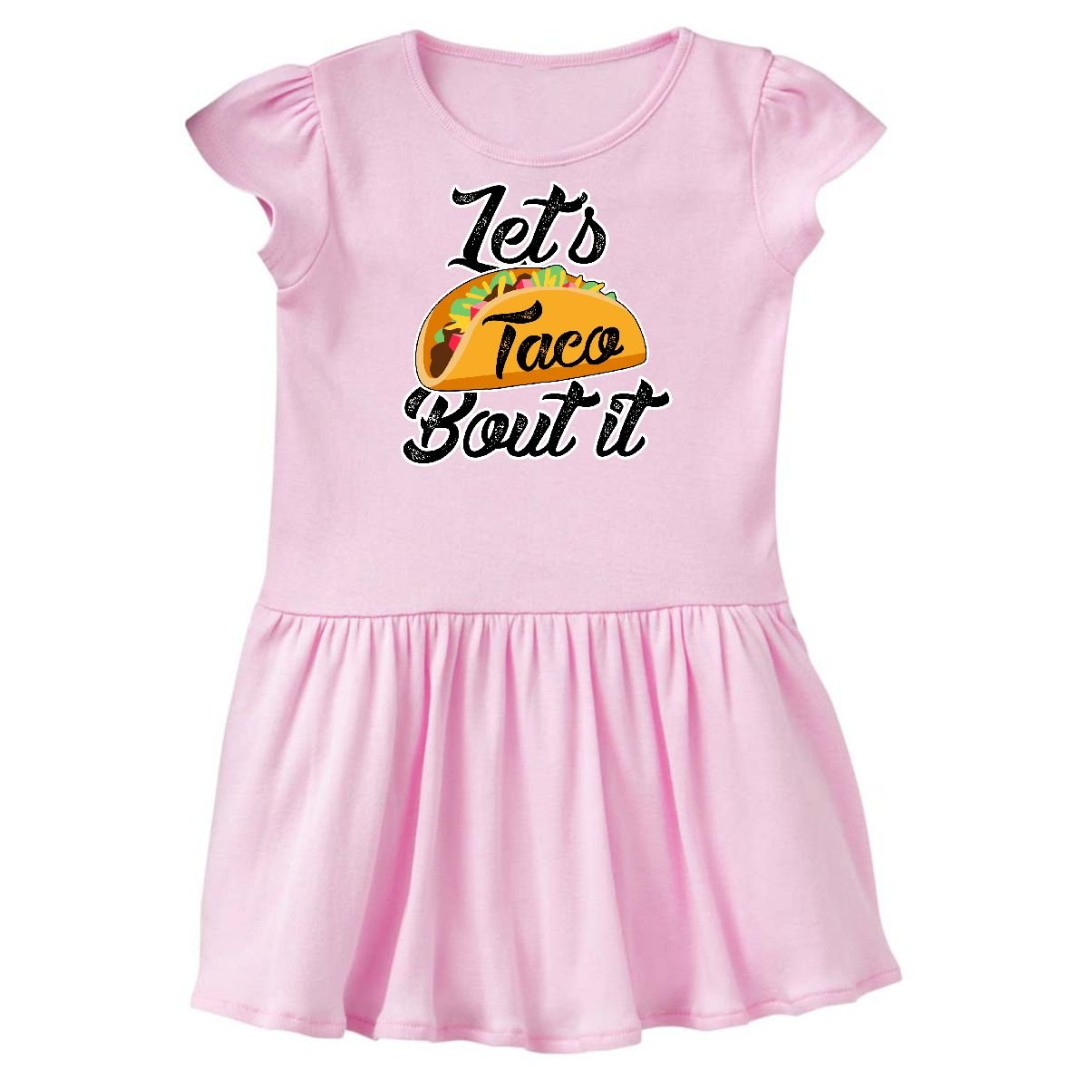 inktastic - Lets Taco Bout it Toddler Dress 14-170556-198