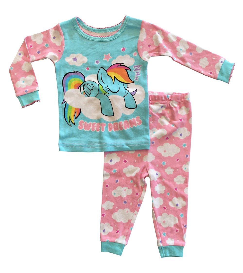 My Little Pony Baby Girls' 2-Piece Cotton Pajama