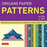 ": Origami Paper - Patterns - Small 6 3/4"" - 49 Sheets: Tuttle Origami Paper: High-Quality Origami Sheets Printed with 8 Different Designs: Instructions for 6 Projects Included (Origami Paper Packs)"