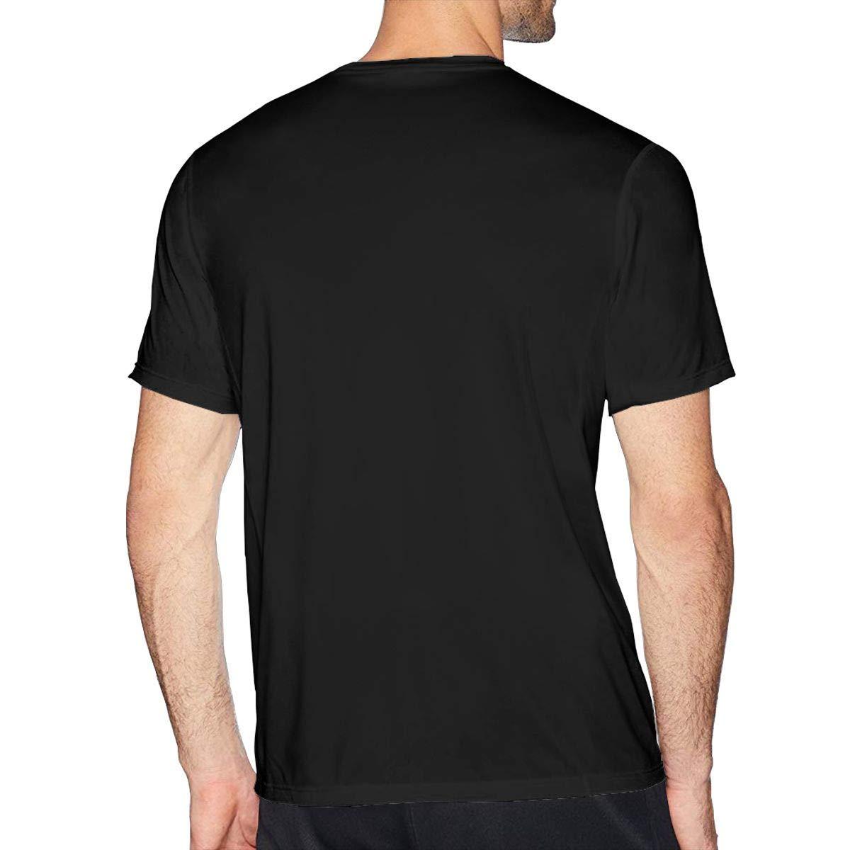 PEGGYNCO Mens Particular My Hero Academia T-Shirt Black