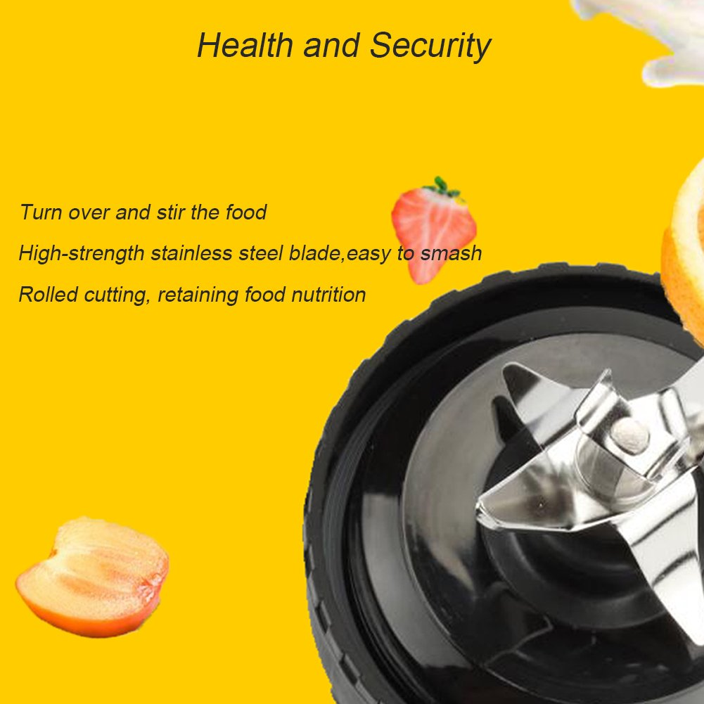 Ketofa BL770 Replacement Bottom Blade 6 Fins Compatible with Nutri Ninja Mega Kitchen System BL660 BL771 BL773co Blender (Single Serve Blade)