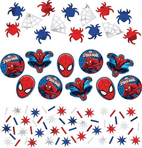 Spider-Man Confetti [Contains 4 Manufacturer Retail Unit(s) Per Amazon Combined Package Sales Unit] - SKU# 361355