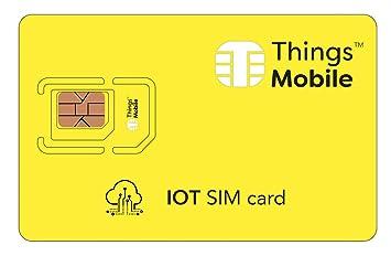 Tarjeta SIM para dispositivos IOT (internet de las cosas ...