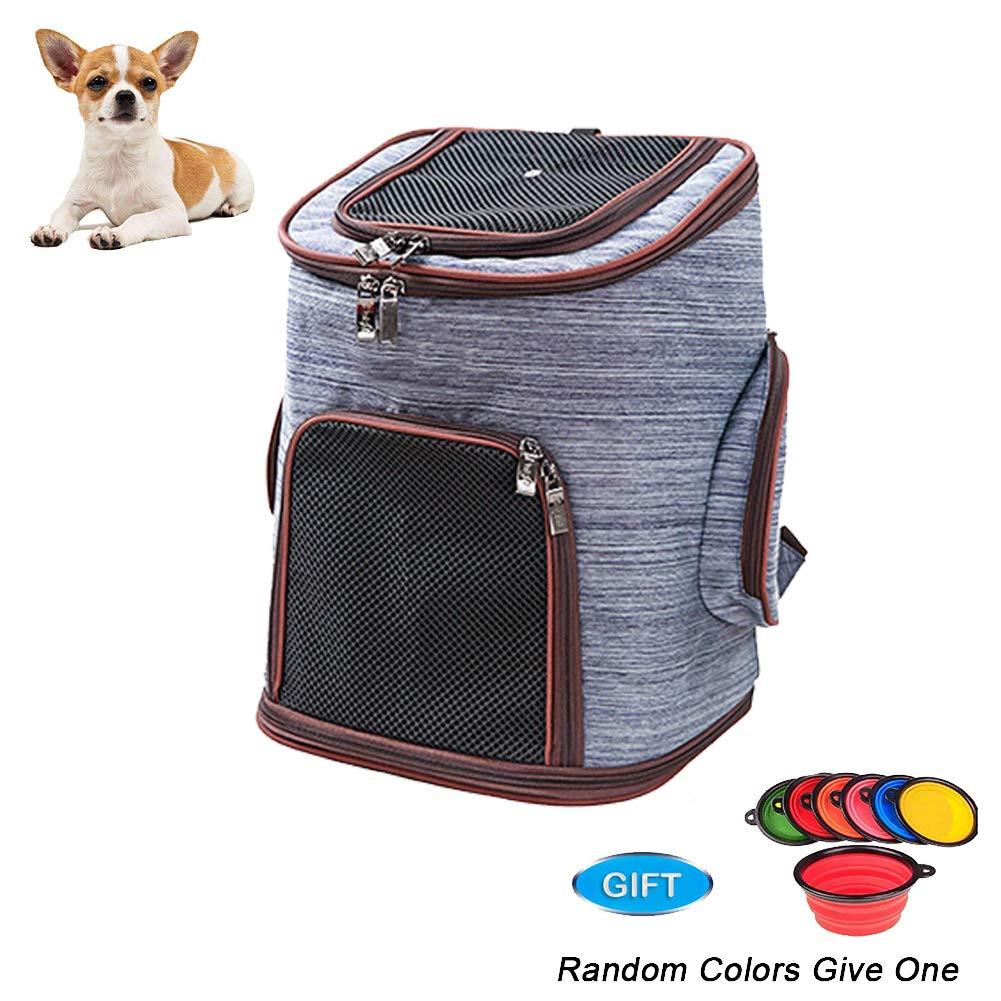 Pet Backpack,Cat Dog Backpack,Breathe Mesh, 30  24  41cm